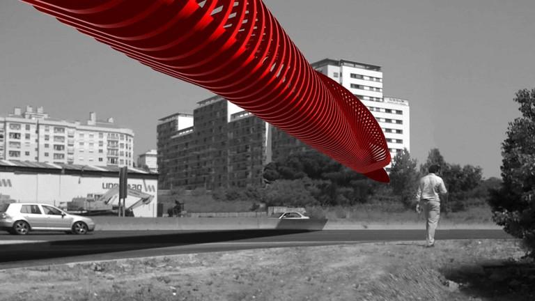 ACVB -  Walking and cycling bridge Competition Lisbon- Portugal