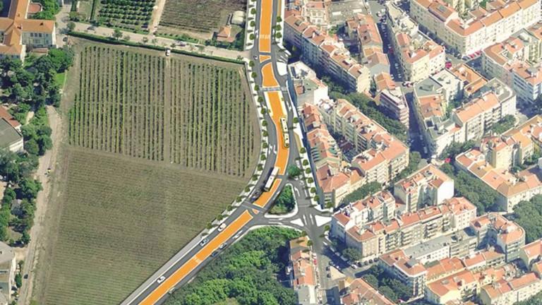ACVB- Urban insertion of surface public transport Alcântara-Algés Lisboa-Portugal